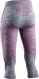 Термобелье X-Bionic штаны Energy Accumulator 4.0 3/4 WMN Grey Melange/Pink 1