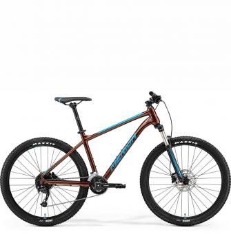 Велосипед Merida Big.Seven 100-3x (2021) Bronze/Blue