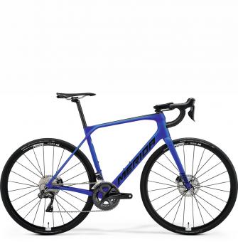 Велосипед Merida Scultura Endurance 7000-E (2021) MattBlue/Black