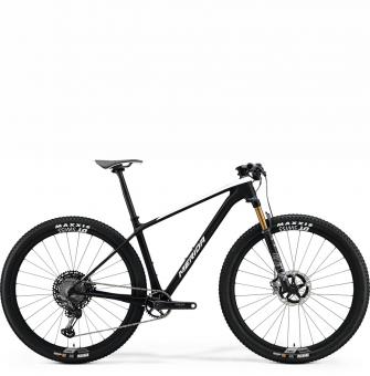 Велосипед Merida Big.Nine 9000 (2021) MattBlack/GlossyCandyGreen