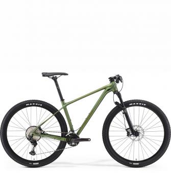 Велосипед Merida Big.Nine 700 (2021) MattFogGreen/MossGreen