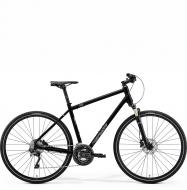 Велосипед Merida Crossway XT Edition (2021) GlossyBlack/MattSilver/Black