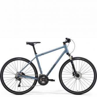 Велосипед Merida Crossway XT Edition (2021) MattSteelBlue/DarkBlue
