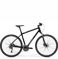 Велосипед Merida Crossway 500 (2021) GlossyBlack/MattSilver