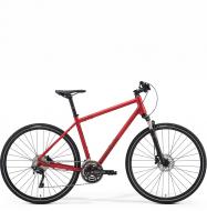 Велосипед Merida Crossway 500 (2021) Matt Burgundy Red (Dark Red)
