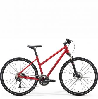 Велосипед Merida Crossway 500 Lady (2021) Matt Burgundy Red (Dark Red)