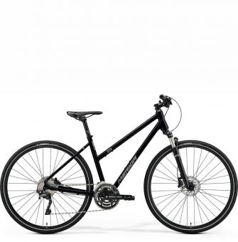 Велосипед Merida Crossway 500 Lady (2021) GlossyBlack/MattSilver