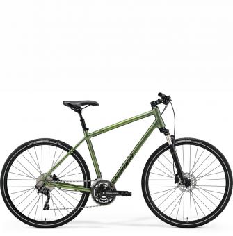 Велосипед Merida Crossway 300 (2021) MattFogGreen/DarkGreen