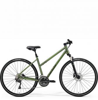 Велосипед Merida Crossway 300 Lady (2021) MattFogGreen/DarkGreen