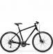 Велосипед Merida Crossway 300 Lady (2021) GlossyBlack/MattSilver 1
