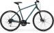 Велосипед Merida Crossway 100 (2021) TealBlue/SilverBlue/Lime 1