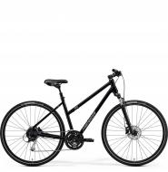 Велосипед Merida Crossway 100 Lady (2021) GlossyBlack/MattSilver