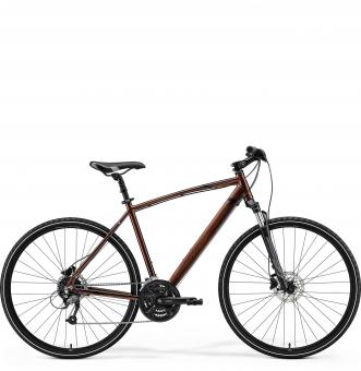 Велосипед Merida Crossway 40 (2021) Bronze/BrownBlack