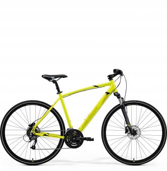 Велосипед Merida Crossway 40 (2021) LightLime/Olive/Black