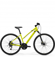 Велосипед Merida Crossway 40 Lady (2021) LightLime/Olive/Black