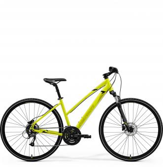 Велосипед Merida Crossway 40 Lady (2021) LightLime/Olive/Black