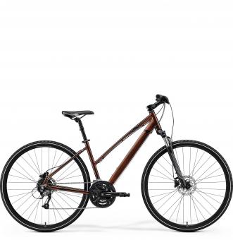 Велосипед Merida Crossway 40 Lady (2021) Bronze/BrownBlack