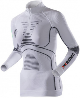Термобелье X-Bionic футболка Lady Acc Evo UW Shirt LG SL Zip Up