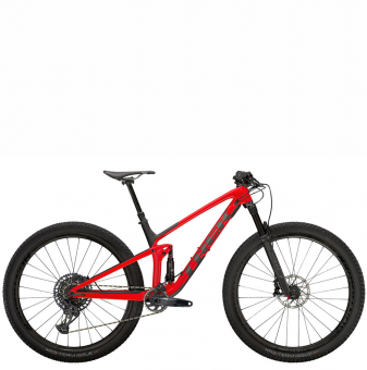 Велосипед Trek Top Fuel 9.8 GX (2021) Gloss Red/Matte Carbon Smoke