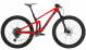 Велосипед Trek Top Fuel 9.8 GX (2021) Gloss Red/Matte Carbon Smoke 1