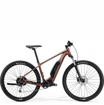 Электровелосипед Merida eBig.Nine 300 SE (2021) SilkBronze/Black