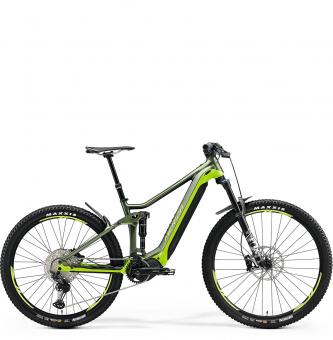 Электровелосипед Merida eOne-Forty 700 (2021) SilkGreen/LiteGreen