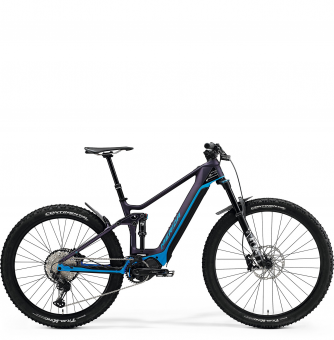 Электровелосипед Merida eOne-Forty 8000 (2021) SilkPurple/Blue
