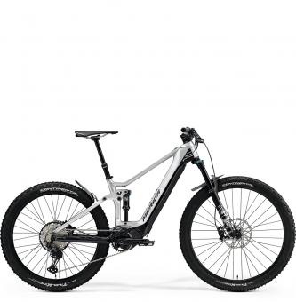 Электровелосипед Merida eOne-Forty 8000 (2021) Silver/Black