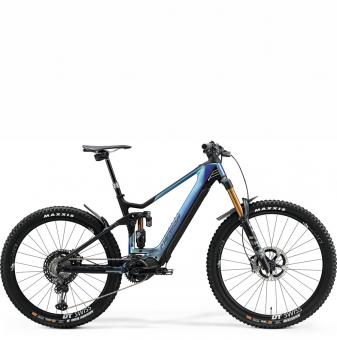 Электровелосипед Merida eOne-Sixty 10K (2021) GlossySparklingBlue/MattBlack
