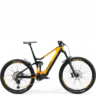 Электровелосипед Merida eOne-Sixty 8000 (2021) GlossyOrange/MattBlack