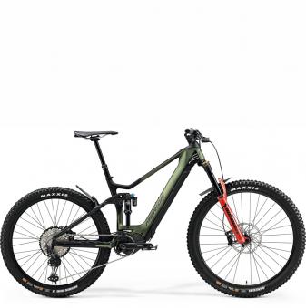 Электровелосипед Merida eOne-Sixty 8000 (2021) MattGreen/Black