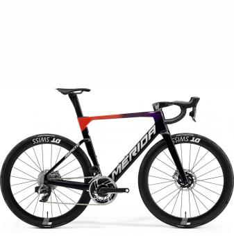 Велосипед Merida Reacto 9000-E (2021) Red/Fading/Black