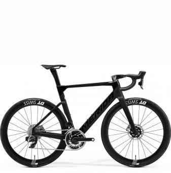 Велосипед Merida Reacto 9000-E (2021) GlossyBlack/MattBlack