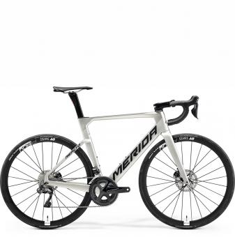 Велосипед Merida Reacto 7000-E (2021) GlossyTitan/SilkTitan
