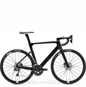 Велосипед Merida Reacto 7000-E (2021) GlossyBlack/MattBlack