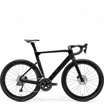 Велосипед Merida Reacto 8000-E (2021) GlossyBlack/MattBlack
