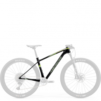 "Рама Merida Big.Nine 8000-FRM 29"" Size: M (17"") 20' UD Transparent Green (Green) (6110837481)"