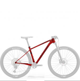 "Рама Merida Big.Nine XT-FRM 29"" Size: M (17"") 20' Glossy Sparkling Red (Dark Red) (6110837630)"