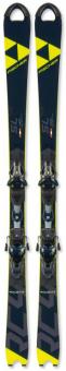 Горные лыжи Fischer RC4 WorldCup SL JR. Curv Booster + RC4 Z9 GW AC Brake 78 [J] (2020)