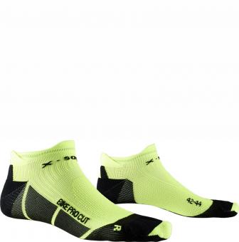 Носки X-Bionic X-Socks Bike Pro Cut Opal Black/Phyton Yellow