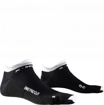 Носки X-Bionic X-Socks Bike Pro Cut Opal Black/Arctic White