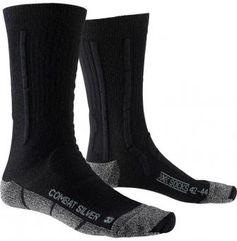 Термоноски X-Socks Combat Silver Olive Green/Anthracite