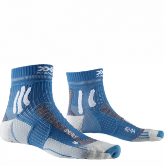 Термоноски для бега X-Socks Marathon Energy Teal Blue/Arctic White