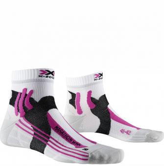 Термоноски для бега женские X-Socks Marathon Arctic White/Pearl Grey