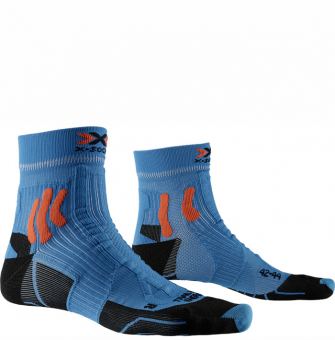 Термоноски для бега X-Socks Trail Run Energy Teal Blue/Sunset Orange