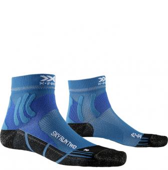 Термоноски для бега X-Socks Sky Run Two Teal Blue