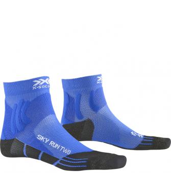 Термоноски для бега X-Socks Sky Run Two Twyce Blue