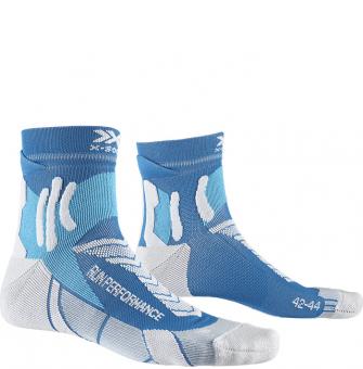 Носки для бега X-Socks Run Performance Teal Blue