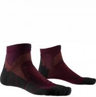 Термоноски для бега X-Socks Run Discovery Dark Ruby