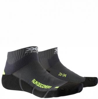 Носки X-Socks Run Discovery Jr Charcoal/Python